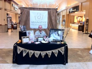Our table at Kentucky Oaks Mall