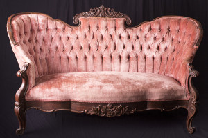 "A Victorian sofa for ""You""...And everyone else!"