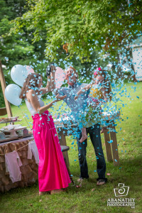Baby Gender Reveal Party Coverage