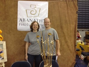 Liz and I at the 2014 Murray State University Great Beginnings Explore Murray Event!