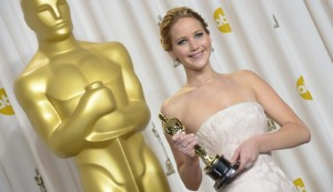 Academy Award winning actress Jennifer Lawrence was one of several celebrities recently affected when a hacker stole images from Apple iCloud Photo by JOE KLAMAR - © 2013 AFP - Image courtesy gettyimages.com