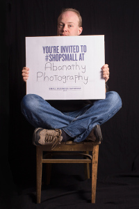 #shopsmall On Small Business Saturday with Abanathy Photography, LLC