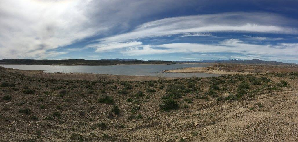 Lahontan Reservoir near Silver Springs, NV.