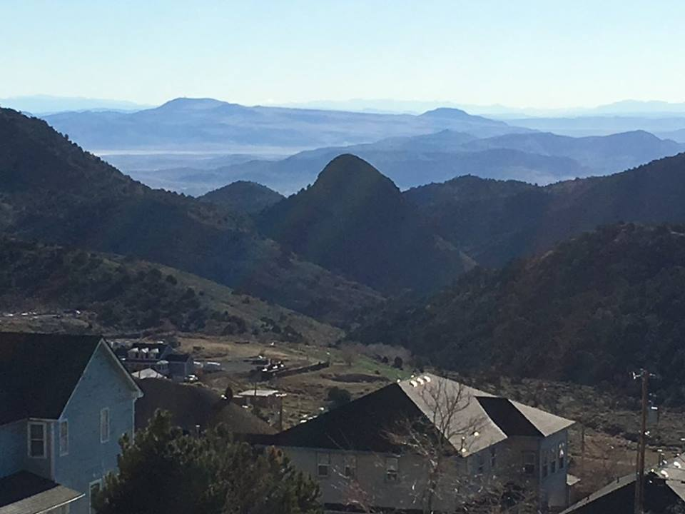 A view from Virginia City, NV. You just don't get many views like this in the East.