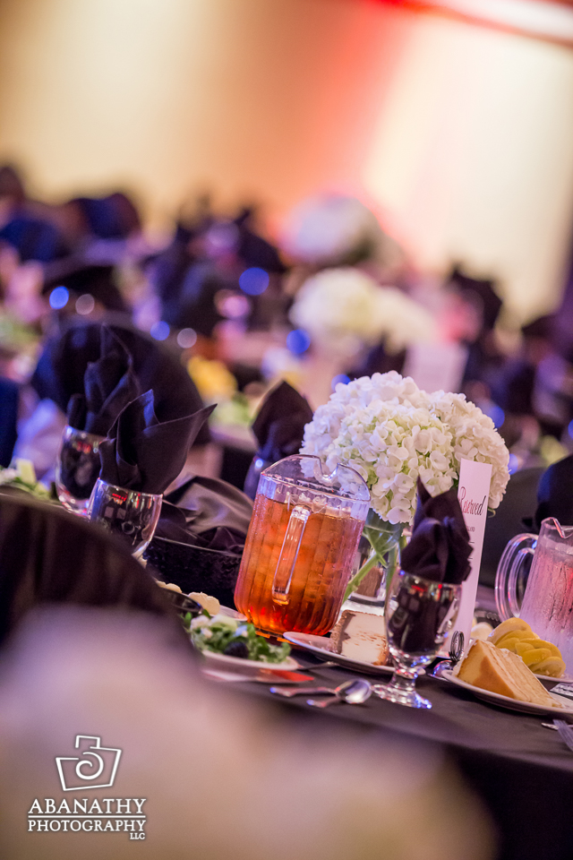 Many event setups allow some great inanimate object shots while guest don't mind the camera's flash later.